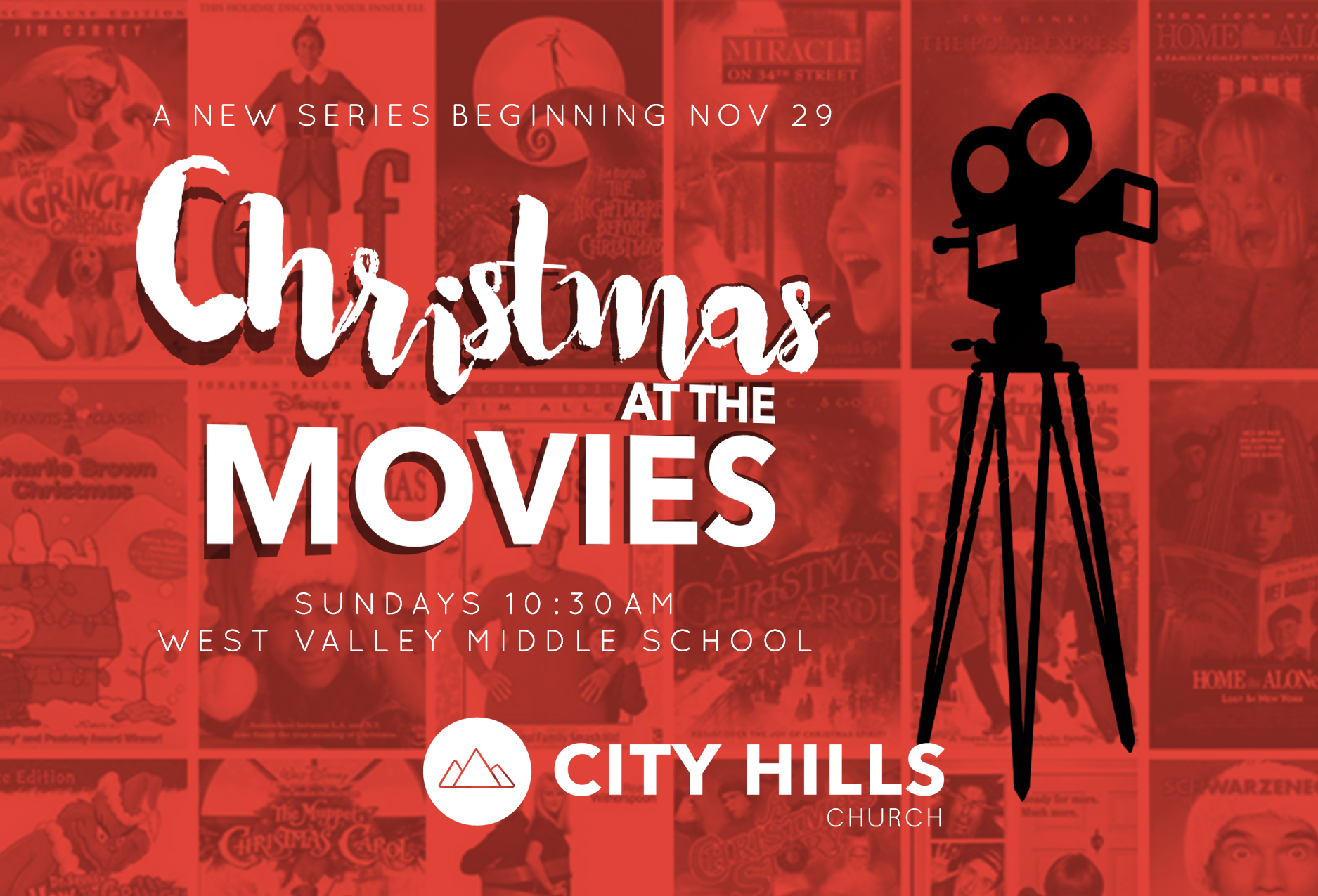 Christmas at the Movies – City Hills Church